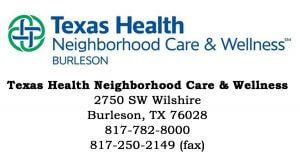 Texas Health Website logo