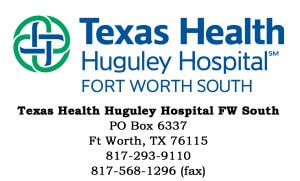 TexasHuguley Website Logo