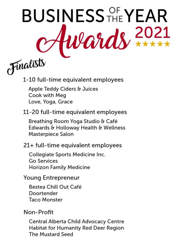 BOYA finalists 2021