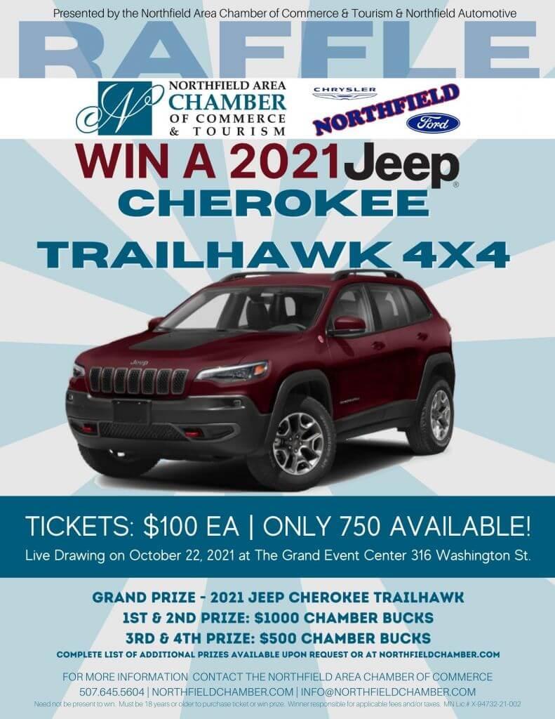 2021 Jeep Raffle