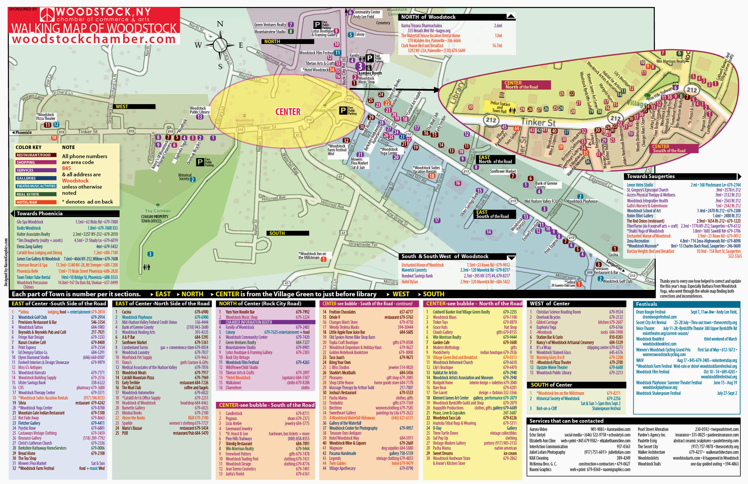 chamber walking map
