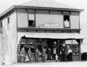 Rose's Store, 1890