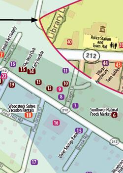 woodstock walking map