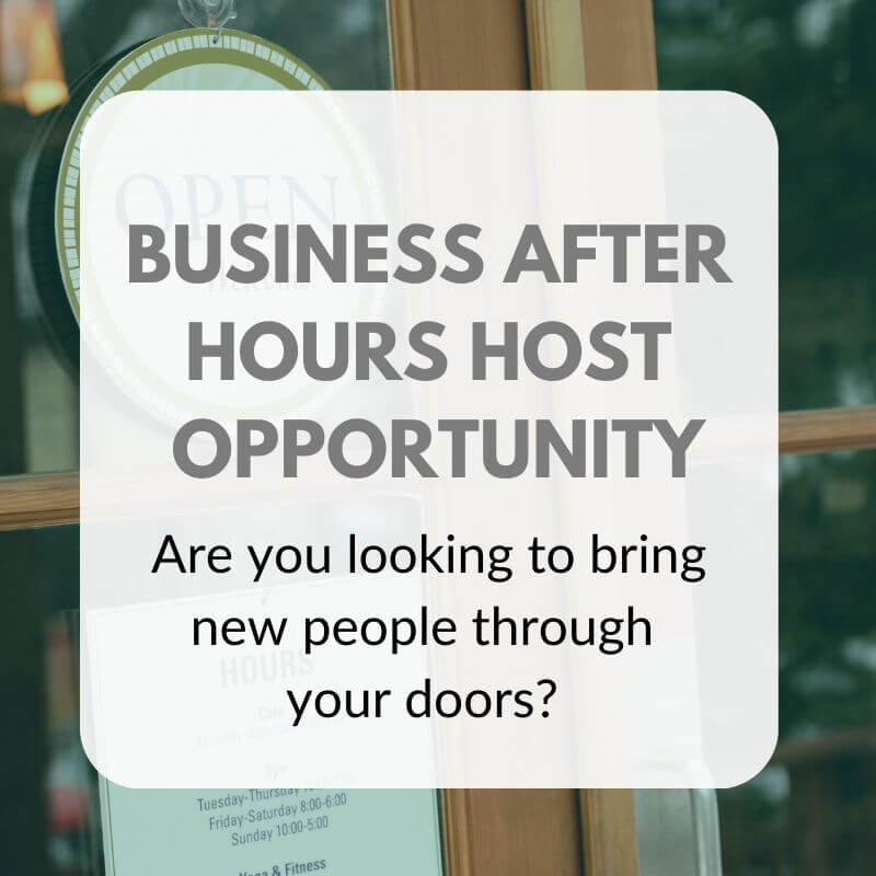 BUSINESS AFTER HOURS Graphic