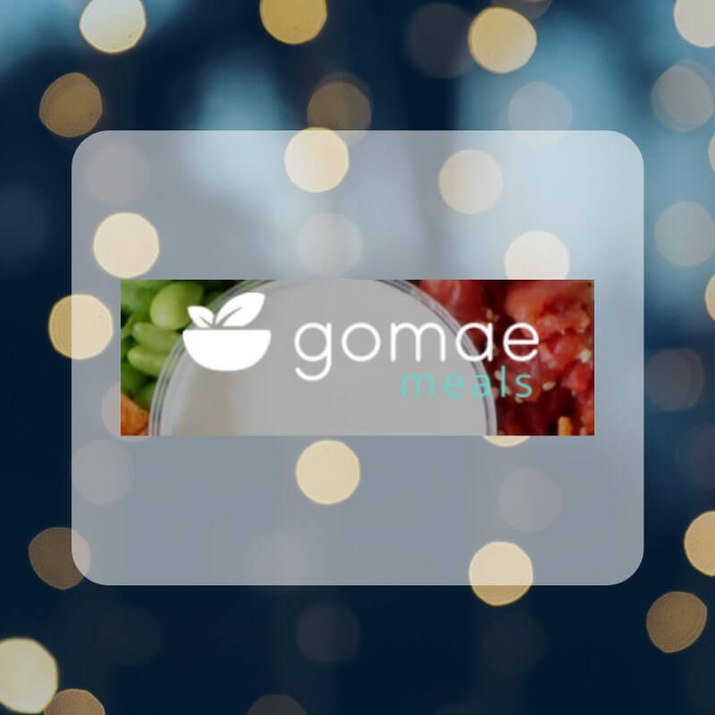Gomae meals