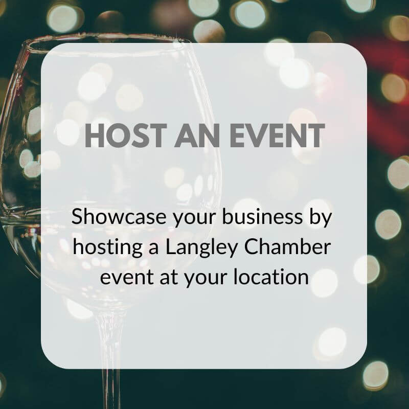HOST AN EVENT Graphic