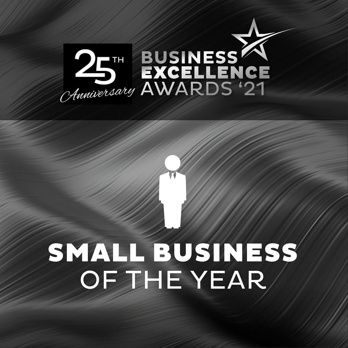 small business of the year banner