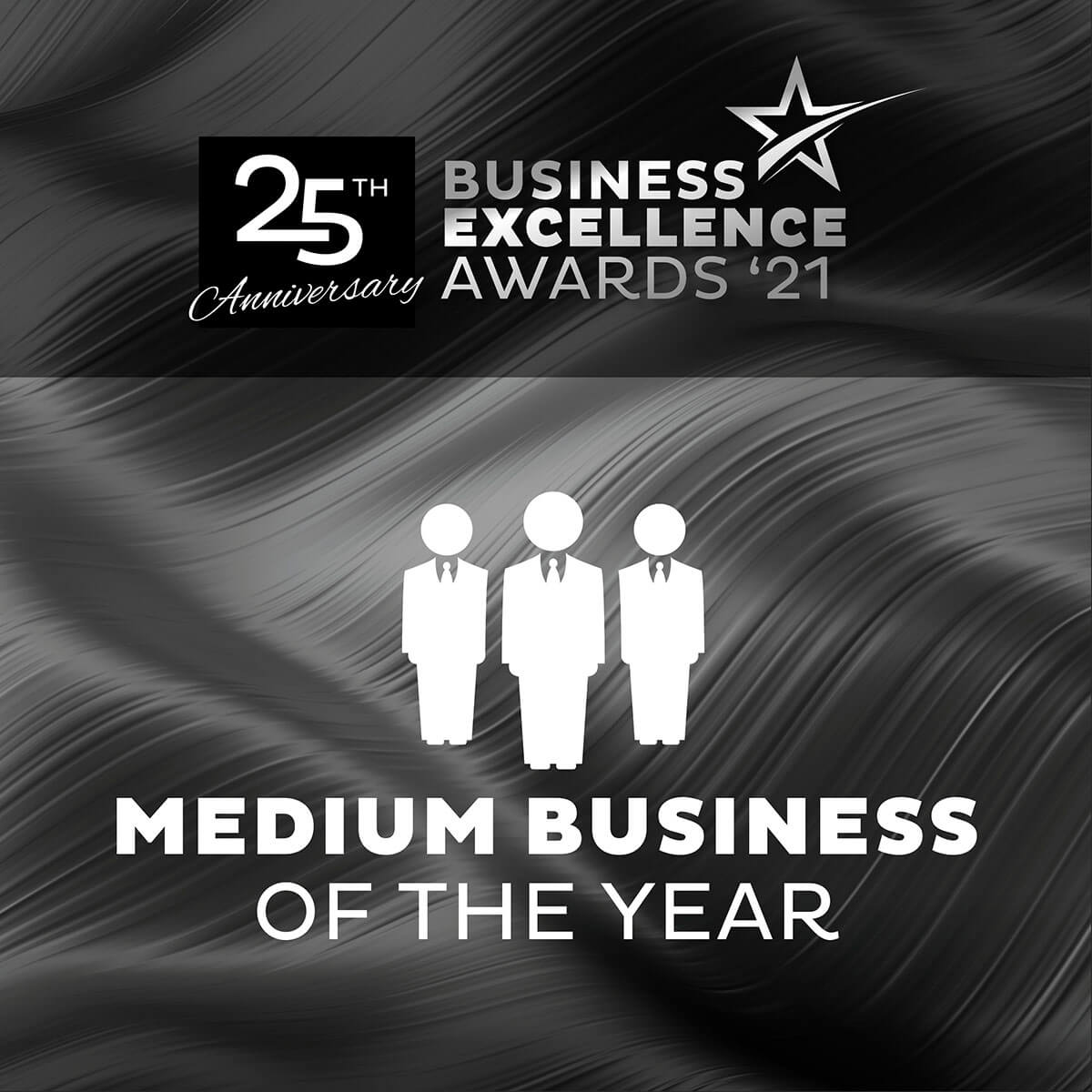 medium business of the year banner