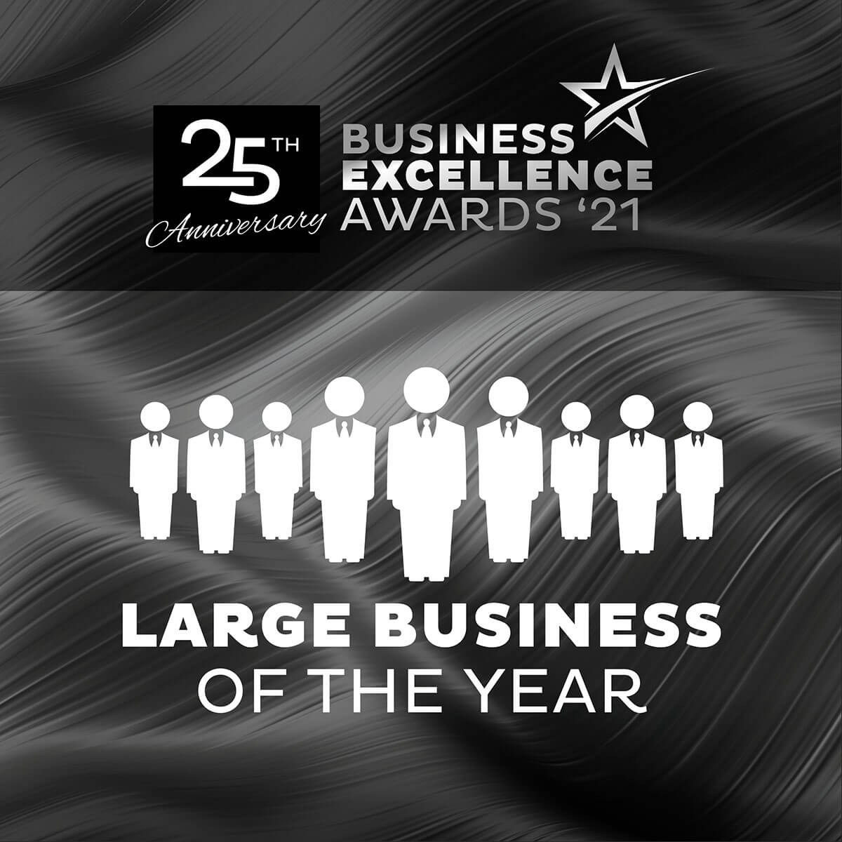 large business of the year banner