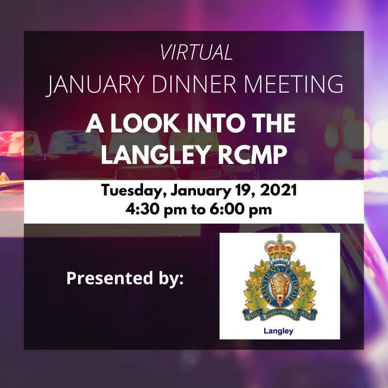 virtual january dinner meeting
