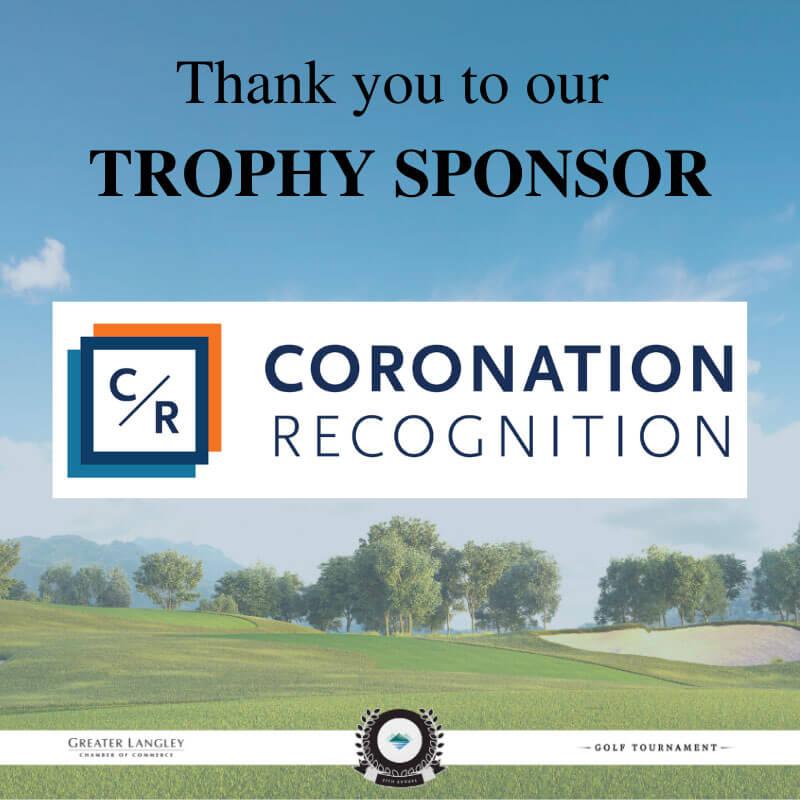 Trophy Sponsor Coronation