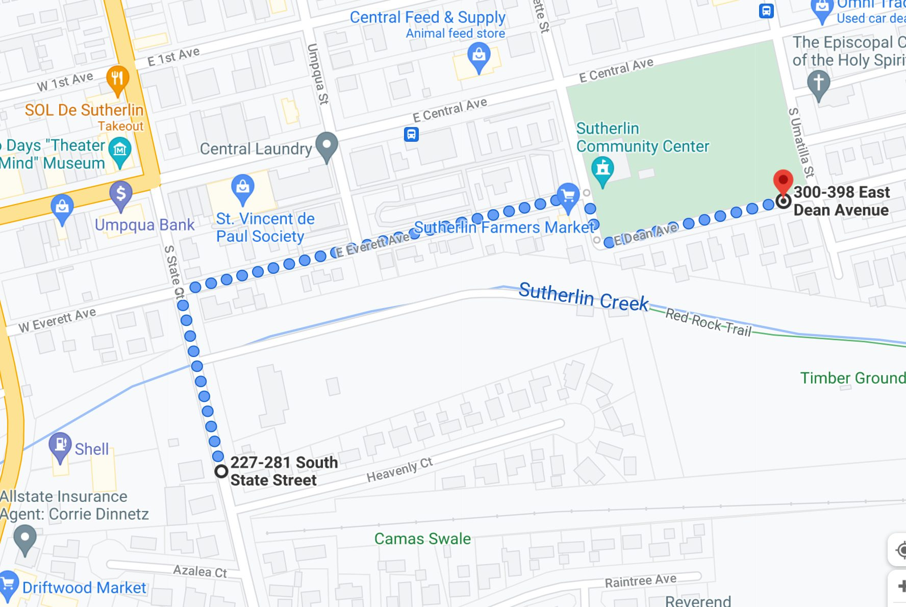 Parade Route july 2021