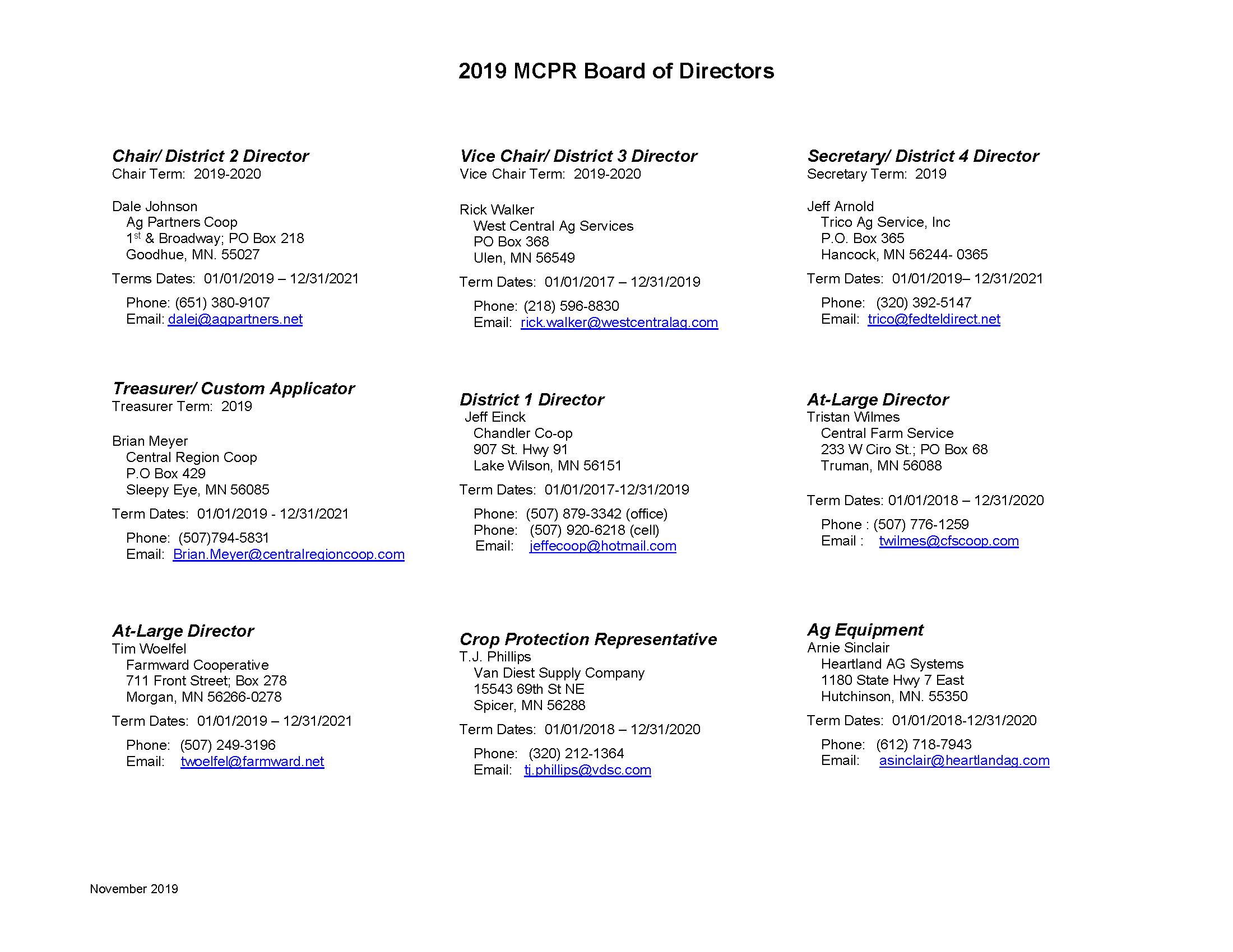2019 MCPR Board of Directors_November_2019_Page_1