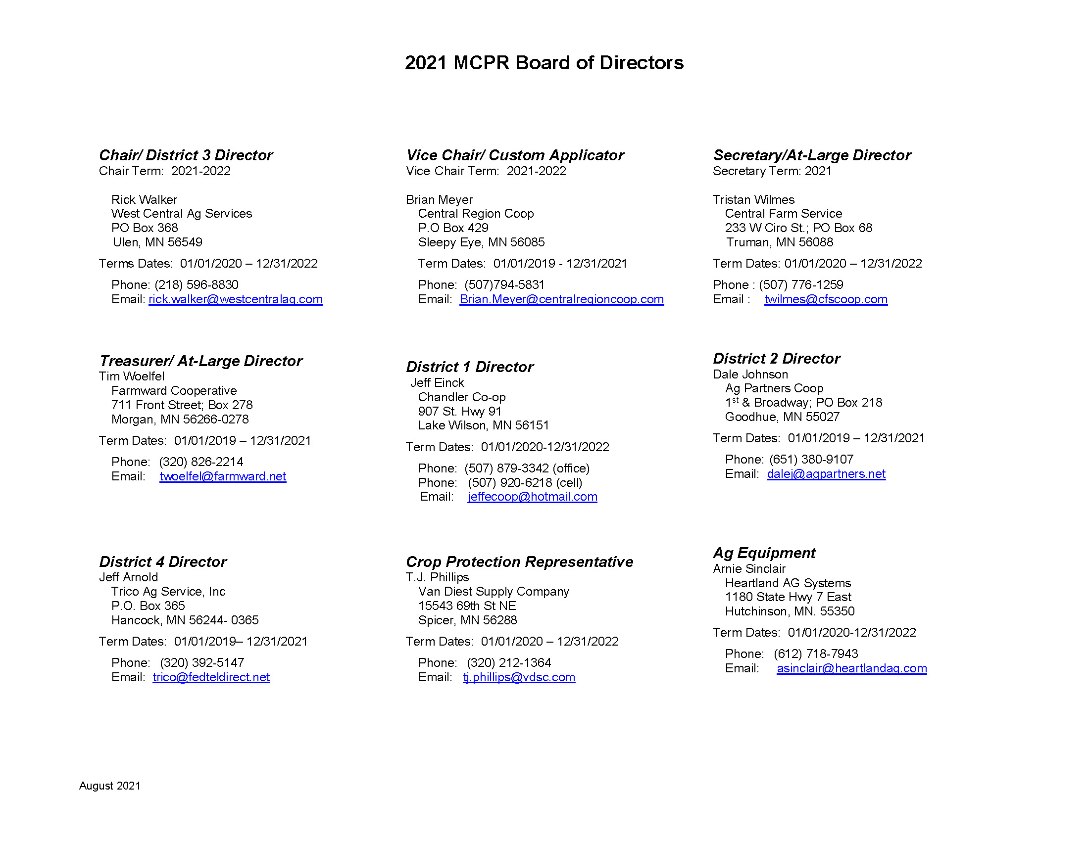 2021 MCPR Board of Directors_August_Page_1