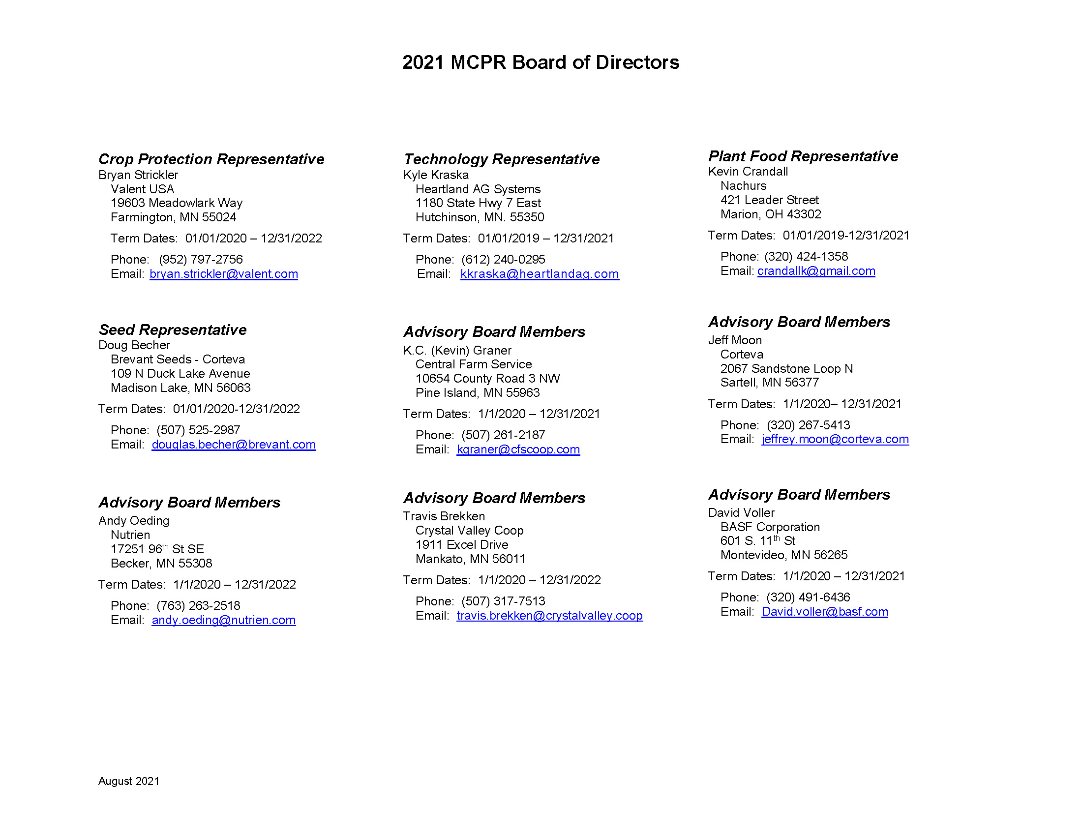 2021 MCPR Board of Directors_August_Page_2