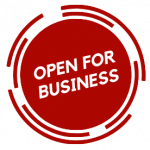 Open For Buisness logo