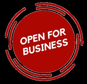 Open For Buisness logo