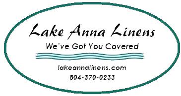 Oval LKA Linens Logo