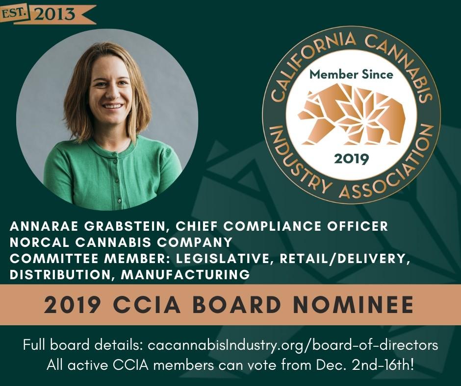 CCIA Board Nominees(1)