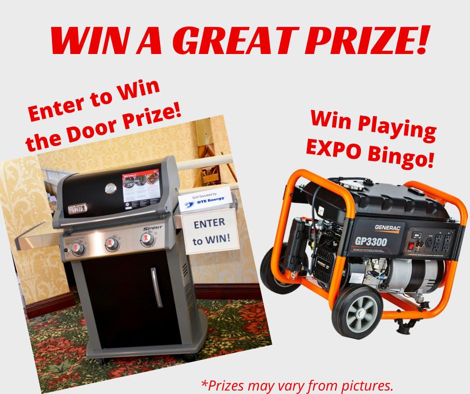 Enter to Win the Door Prize! (4)