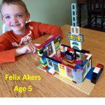 5 Yr Old Felix Akers