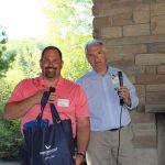 210615 Door Prize Winner Kevin Dunklow