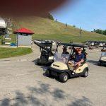 Golf cart no id Mike Gamble