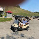 Golf carts John Cook