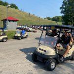 Golf carts Nick Green