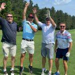 Golfers Mike Fox, Mitchell Blue, Donn Westmann, Steve McGregor 3