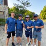 Golfers O'Grady 4some Matt