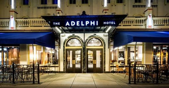 Adelphi entrance