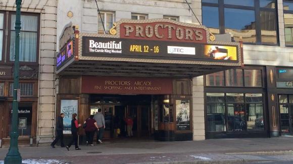 exterior or Proctors front entrance