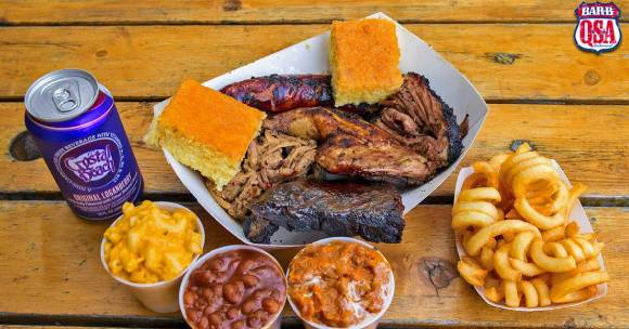 barbque picnic meal