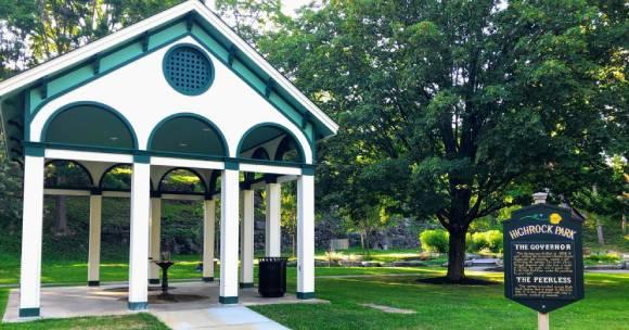 High Rock Park picnic area