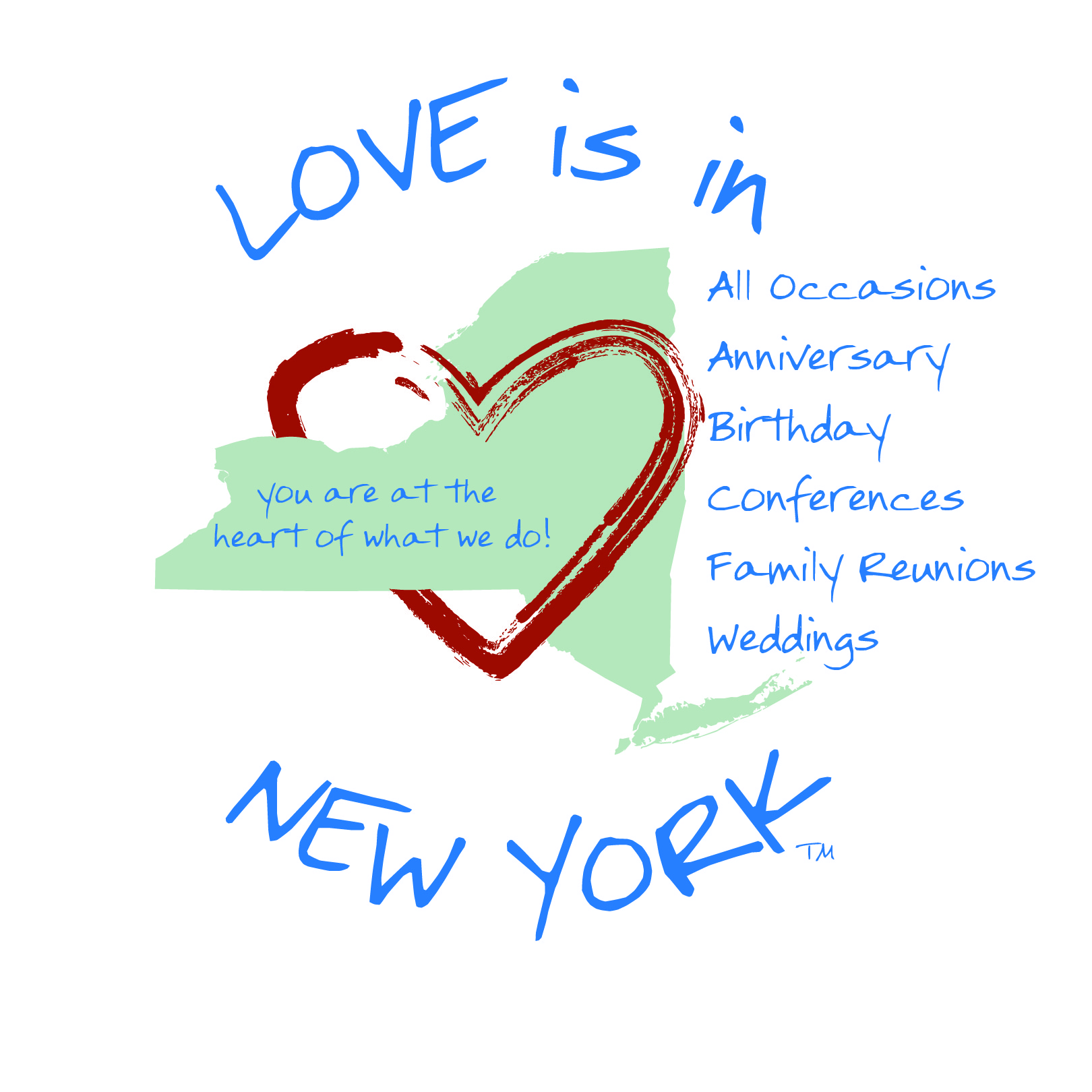 Love is in New York Logo