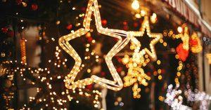Christmas street decor