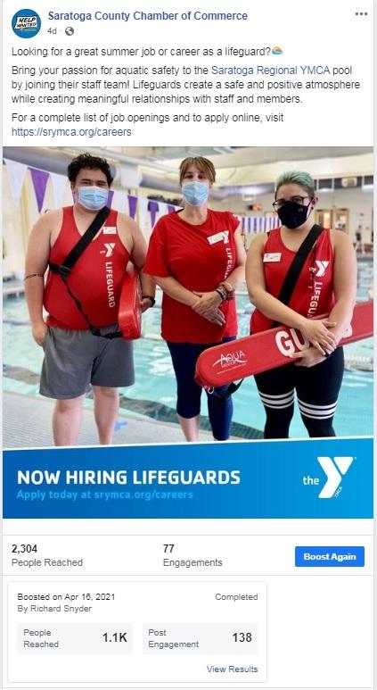 Saratoga Regional YMCA