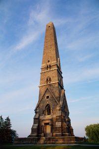 Saratoga Monument, obelisk, Saratoga National Historic Monument, Saratoga, NY