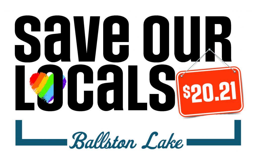 Save Our Locals 2021 Ballston Lake