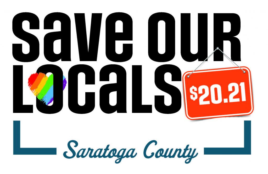 Save our Locals 2021 Saratoga County