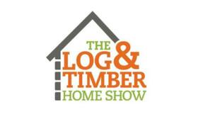 Log timber logo