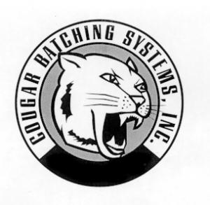 Cougar Batching Logo