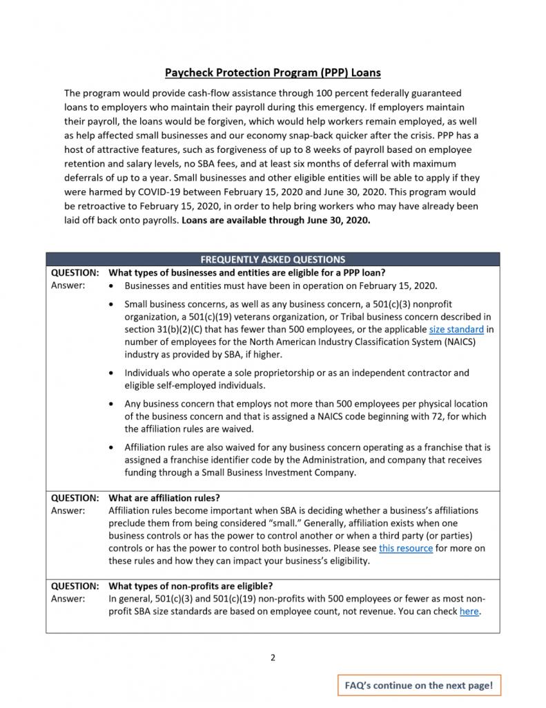 Sm Business CARES Guide 2