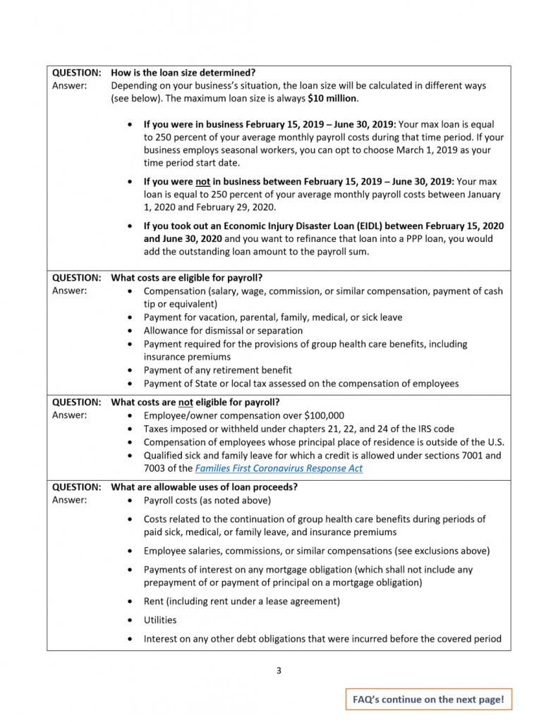 Sm Business CARES Guide 3