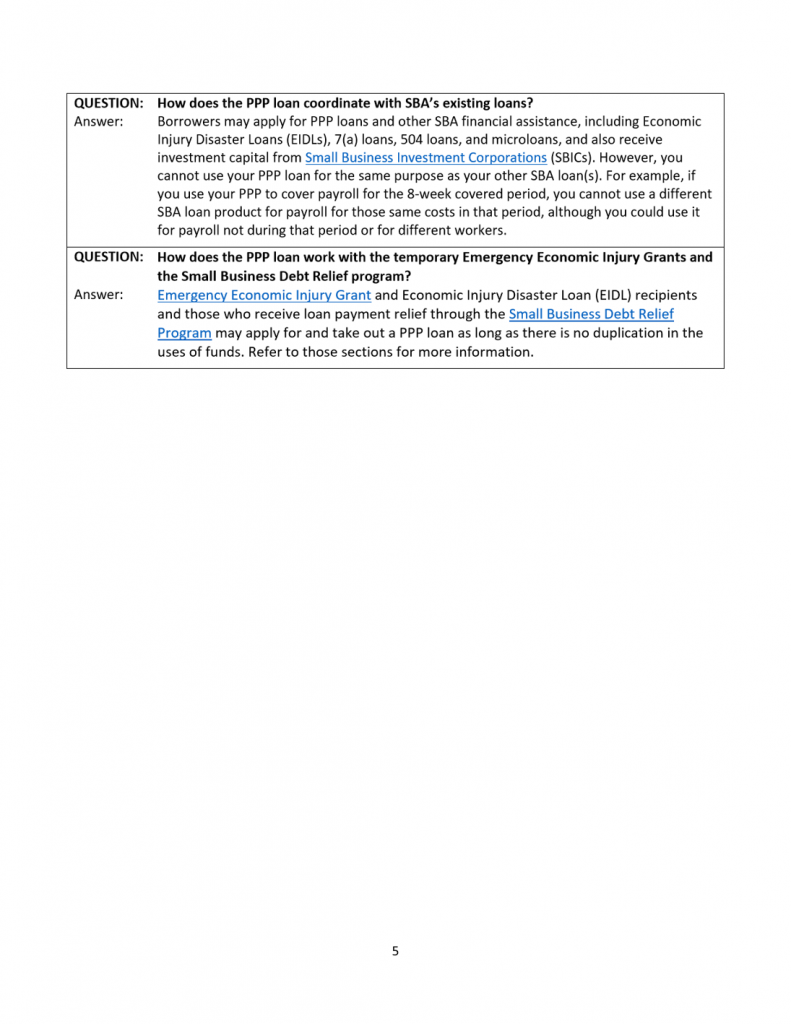 Sm Business CARES Guide 5