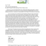 Supervisor Wasserman- Letter of Support to Delay Minimum Wage Increase