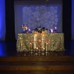 Stage Head table