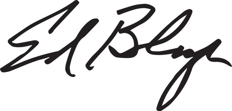 Ed Berlanga Signature