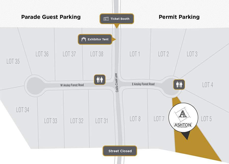 Parade Site Plan